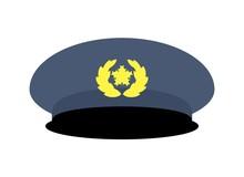 警官の帽子