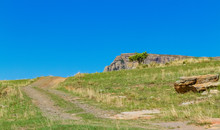 Rural Mountain Scene At Basoth...