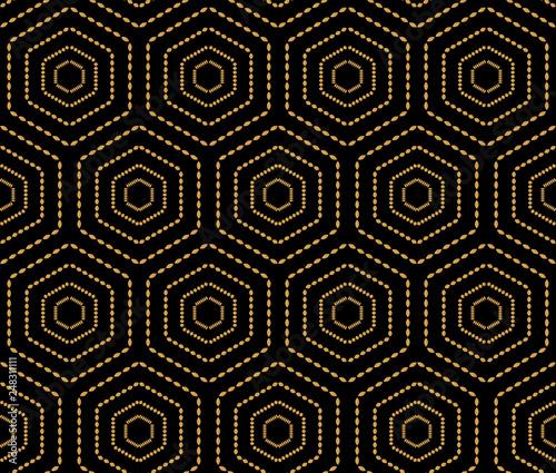 japonskiego-stylu-tla-zloty-bezszwowy-deseniowy-wizerunku-wieloboka-geometrii-kropki-linii-rama