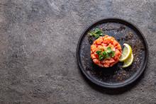 Raw Salmon, Avocado Purple Oni...