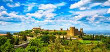 Tuscany, Montalcino Medieval V...