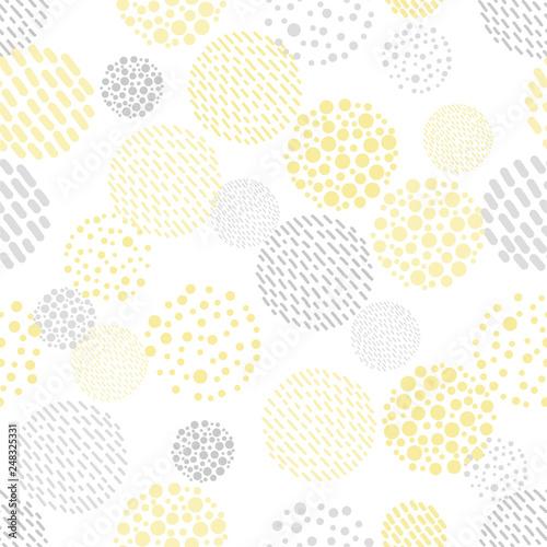 fototapeta na drzwi i meble 抽象的なパターン / シームレス