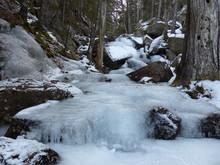 Winter Hiking, Giant Slide Tra...