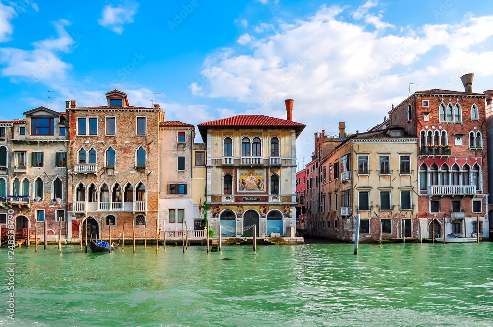 Venice canals and architecture, Italy