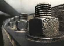 Nuts And Bolts. Huge Stack Of ...