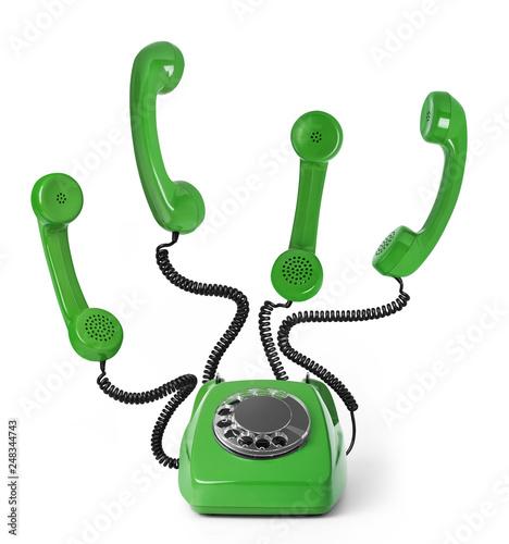 Obraz Multi-tasking telephone - fototapety do salonu