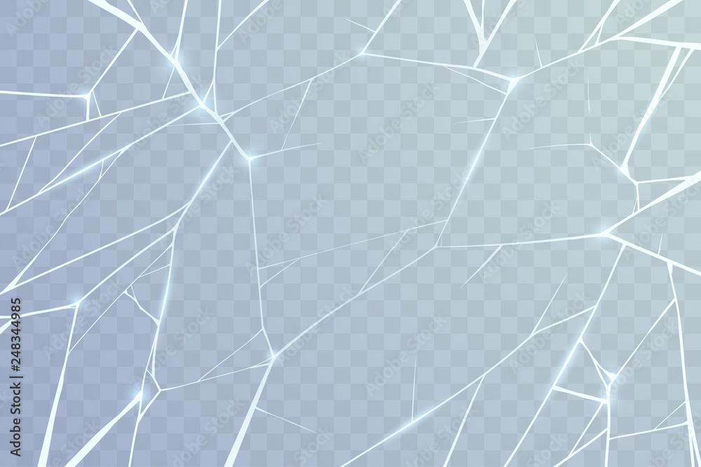 Fototapeta Broken glass background