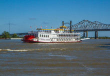 Creole Queen Steamboat On Miss...