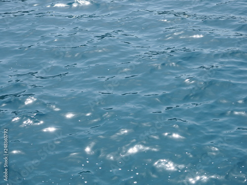 Fotografie, Obraz  Water surface clean texture background, smooth texture of the water