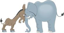Democrats Vs. Republicans Vect...
