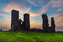Sunset At Reculver, On The Nor...