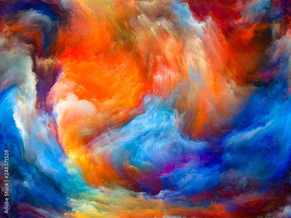 Fototapety, obrazy: The Living Paint