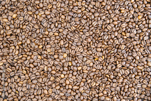 Roasted coffee beans #248375935