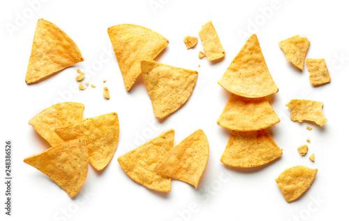 Fotografía  corn chips nachos