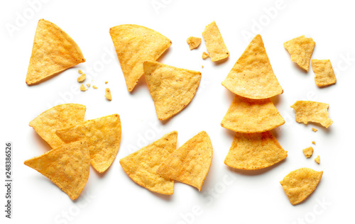 Cuadros en Lienzo  corn chips nachos