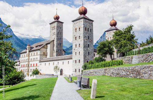 Vászonkép Stockalperschloss, Brig, Schweiz