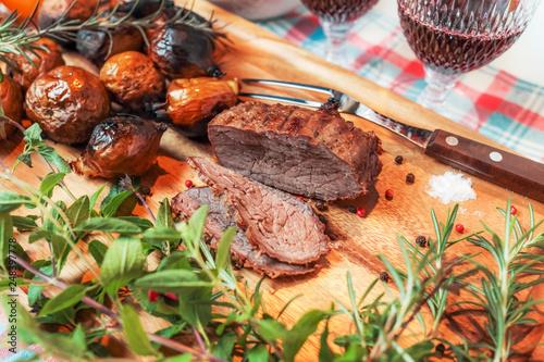 Fotografía  アウトドア料理でパーティー Party outdoor cooking