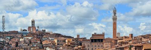 Plakat Panorama Sieny
