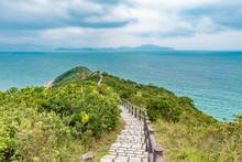 Landscape Of Cheung Chau Island In Hong Kong, China.