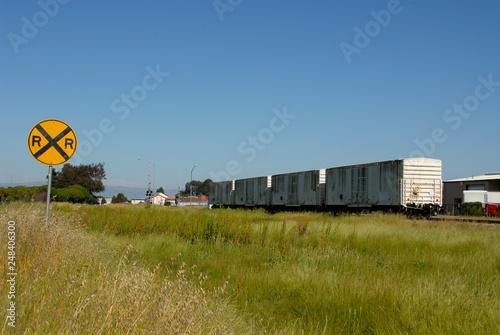 Fotografie, Obraz  Boxcars