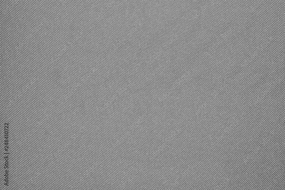 Fototapety, obrazy: Grey fabric texture.Grey braided fabric background.