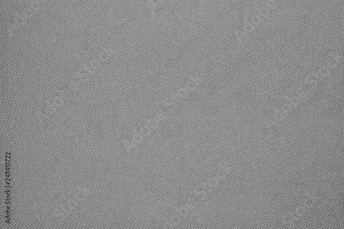 Fotografiet  Grey fabric texture.Grey braided fabric background.