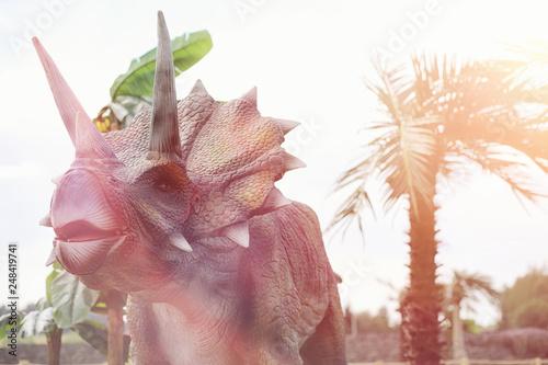 Photo  Park of dinosaurs