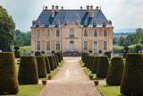 Vendeuvre France 09-10-2018. Vendeuvre castle in Normandy France.