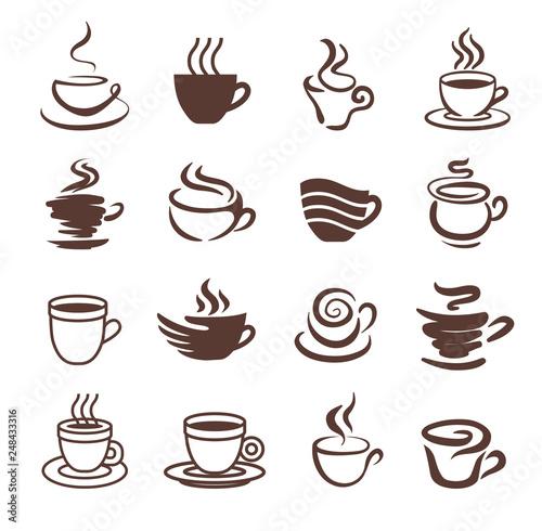 Fotografie, Obraz  Coffee cup icon symbol vector illustration