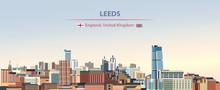 Vector Illustration Of Leeds C...