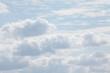Leinwandbild Motiv Wolken, Blauer Himmel