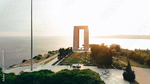 Fotografía  57th Infantry Regiment - Turkish memorial and cementery