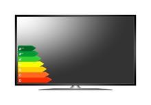Modern 3D Plasma TV. Off Multi...