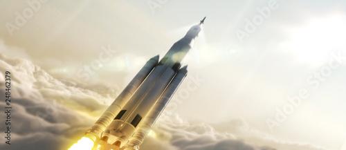 Obraz na plátně  Rocket