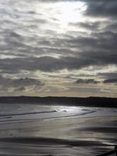 Sunrise On The Beach, Bridlington, Yorkshire