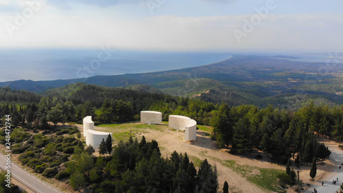 Fotografia Chunuk Bair - The Battle of Chunuk Bair was a World War I battle fought between the Ottoman defenders and troops of the British Empire over control of the peak in August 1915