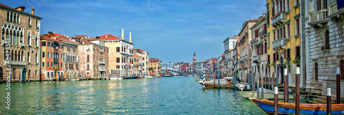 Fototapeta Panorama of the Grand Canal in Venice, Italy obraz