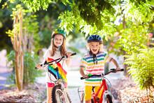 Kids On Bike. Children On Bicy...