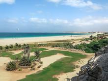 Ausblick Auf Die Praia De Chaves, Boa Vista, Kapverden