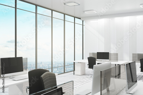 Poster Airport Luxury office with city view
