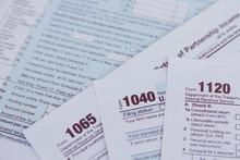 US Tax Form 1040, 1120, 1065 /...