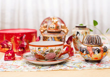 Tea Party Chinese Porcelain
