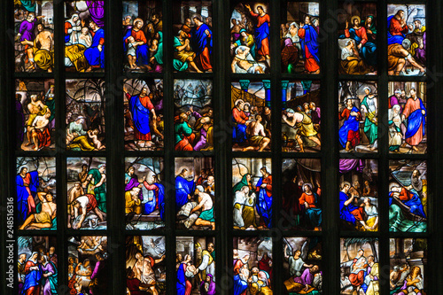 Photo Stained Glass Saints