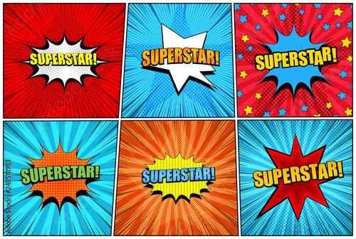 Fotografía Comic superstar bright collection