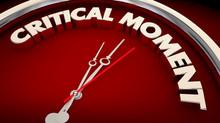 Critical Moment Emergency Crisis Important Clock 3d Illustration