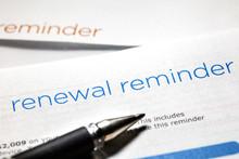Renewal Reminder Letter