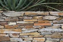 Flagstone Retaining Wall