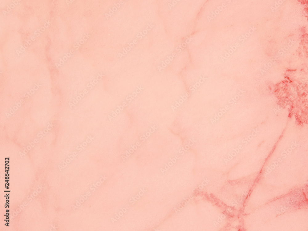 Fototapety, obrazy: Living coral marble surface background