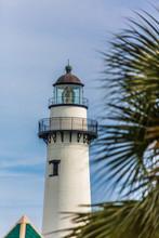 Lighthouse Beyond Palm