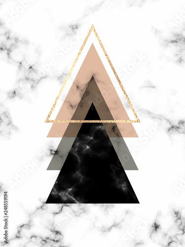 minimalne-geometryczne-marmurowe-tlo-ze-zlotymi-trojkatami-w-stylu-skandynawskim